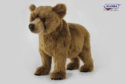 Mooie XL Bruine beer welp  61 cm kopen