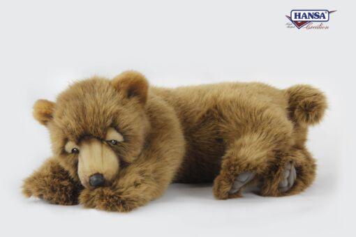 Mooie Licht bruine beer slapend L  45 cm kopen