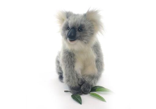 Mooie Zwarte Blije koala knuffel  23 cm kopen