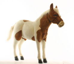 Mooie XL Licht bruine Shetland pony decoratie  106 cm kopen