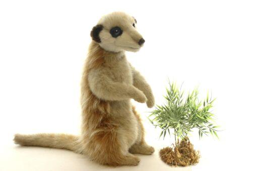 Mooie Beige Meerkat zittend knuffel  26 cm kopen