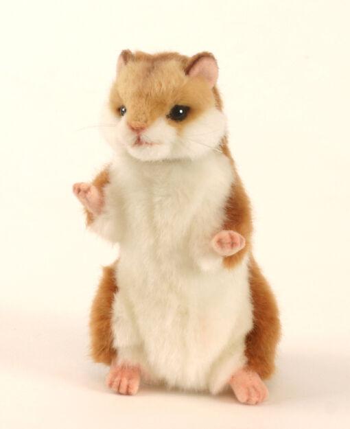 Mooie Licht bruine Hamster knuffel  15 cm kopen