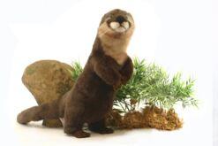 Mooie Bruine Otter staand knuffel  35 cm kopen