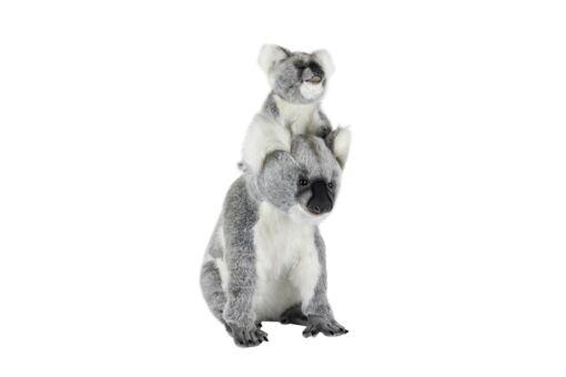 Mooie XL Witte Koala mama & jong knuffel  60 cm kopen