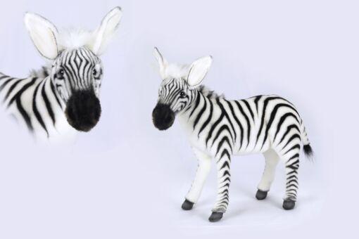 Mooie Witte Zebra knuffel  46 cm kopen