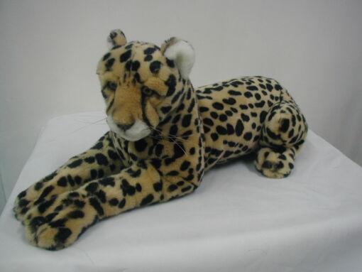 Mooie Goudgele Cheeta liggend knuffel  42 cm kopen