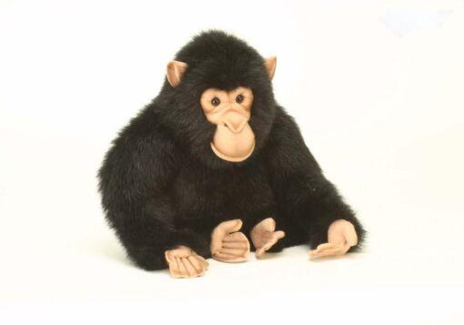 Mooie XL Bruine Chimpansee knuffel  46 cm kopen