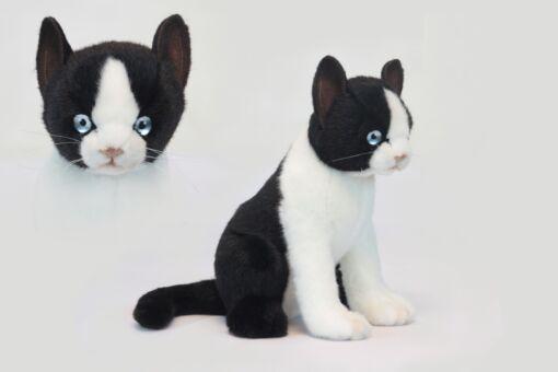 Mooie Zwarte Felix de kat knuffel  24 cm kopen