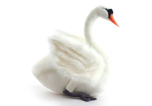Mooie XL Witte zwaan decoratie  64 cm kopen