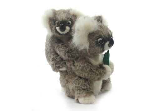 Mooie Witte Koala met jong knuffel  28 cm kopen
