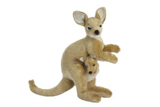 Mooie Witte Wallaby knuffel  38 cm kopen