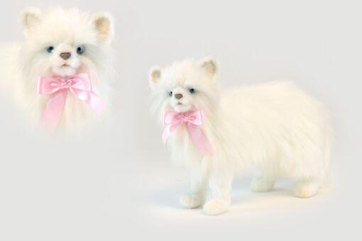 Mooie Witte Kat wit knuffel  35 cm kopen