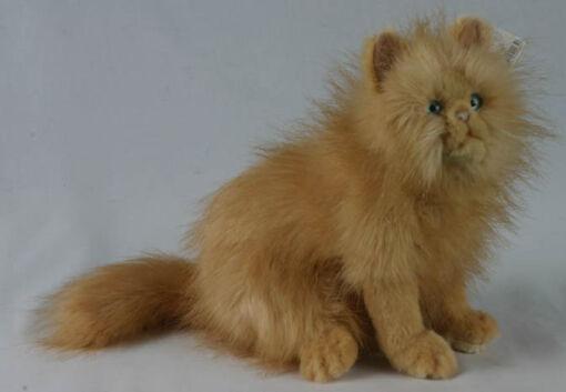 Mooie Roodbruine Kat rood knuffel  31 cm kopen