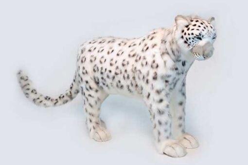 Mooie XL Witte Sneeuwpanter staand decoratie  122 cm kopen
