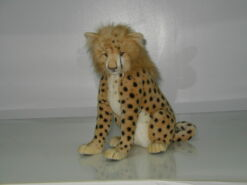 Mooie Goudgele Cheeta welp zittend knuffel  43 cm kopen