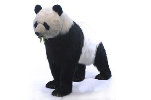 Mooie XL Witte Panda lopend decoratie  192 cm kopen