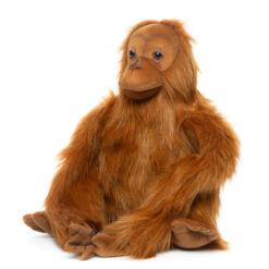 Mooie Roodbruine Orang-oetan mama knuffel  42 cm kopen