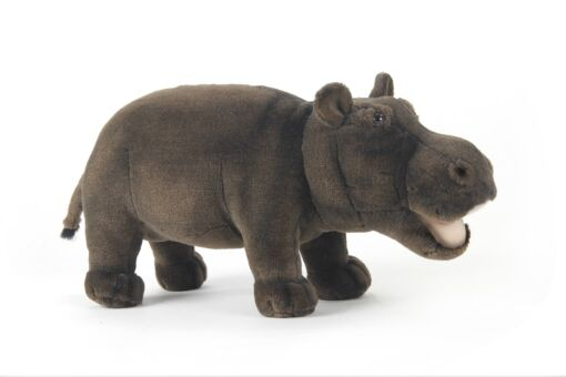 Mooie Grijze Nijlpaard knuffel  46 cm kopen
