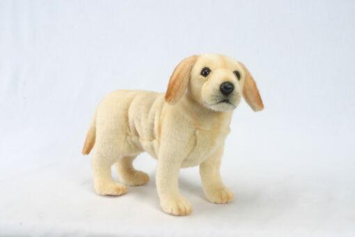 Mooie Beige Labrador pup knuffel  35 cm kopen