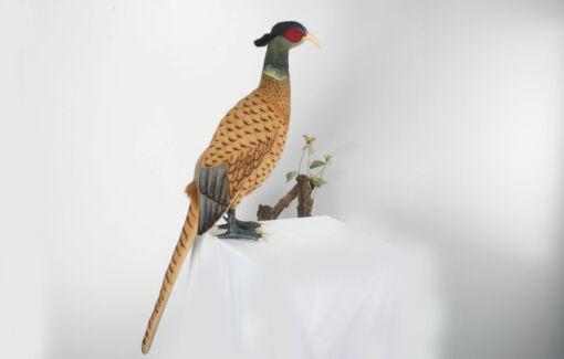 Mooie Roodbruine Fazant decoratie  70 cm kopen