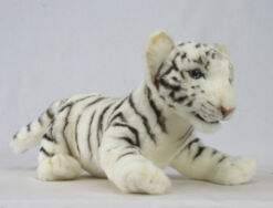Mooie Witte Bengaalse tijger welp knuffel  38 cm kopen