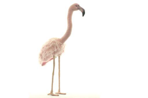 Mooie XL Roze Flamingo roze decoratie  80 cm kopen