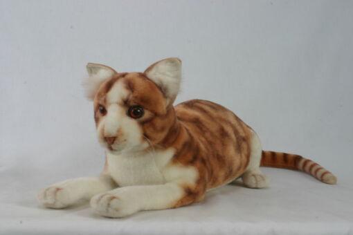 Mooie Roodbruine Kat knuffel  58 cm kopen