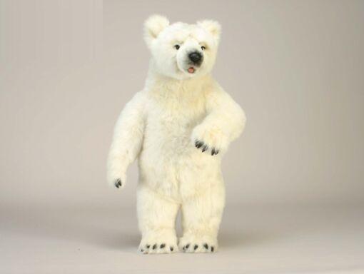 Mooie XL Witte IJsbeer knuffel  75 cm kopen