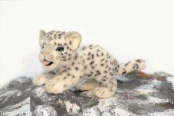 Mooie Witte Sneeuwpanter welp knuffel  27 cm kopen