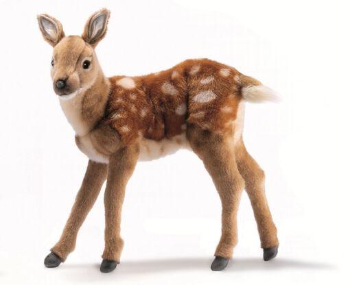 Mooie Roodbruine Bambi staand knuffel  35 cm kopen