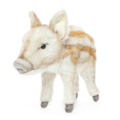 Mooie Bruine Wild zwijn jong staand knuffel  33 cm kopen