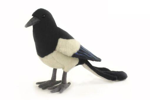 Mooie Zwarte Ekster knuffel  33 cm kopen