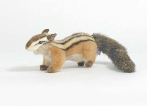 Mooie Bruine Aardeekhoorn ware grootte knuffel  20 cm kopen