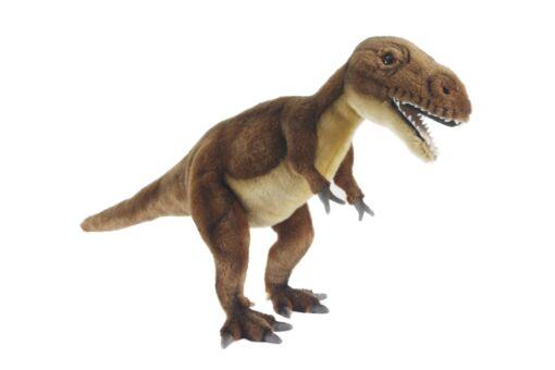 Mooie XL Roodbruine Tyrannosaurus knuffel  66 cm kopen
