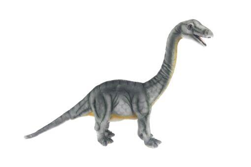 Mooie XL Grijze Brontosaurus knuffel  55 cm kopen
