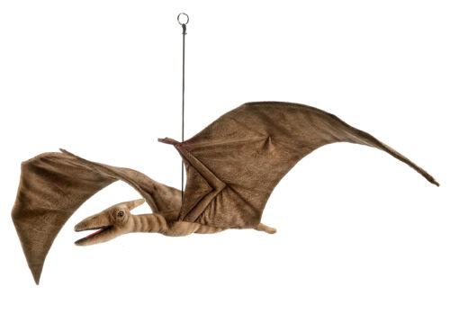 Mooie Bruine Pterodactyl gespreide vleugels knuffel  100 cm kopen