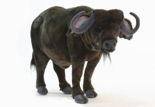 Mooie XL Donkere Buffel knuffel  75 cm kopen