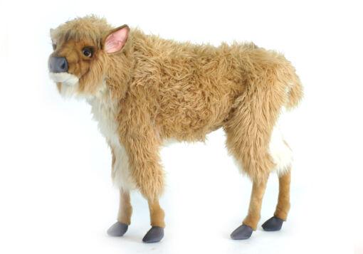 Mooie XL Licht bruine Amerikaanse bizon kalf decoratie  96 cm kopen