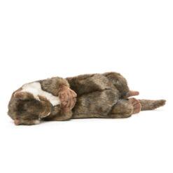 Mooie Bruine Rustende otter knuffel  34 cm kopen