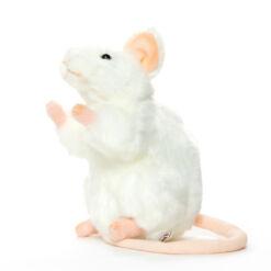 Mooie Witte Witte muis knuffel  16 cm kopen