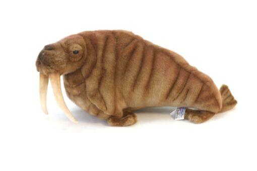 Mooie Roodbruine Walrus knuffel  38 cm kopen