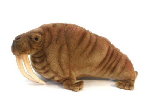 Mooie Roodbruine Walrus knuffel  48 cm kopen