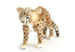 Mooie Goudgele Cheeta welp knuffel  60 cm kopen