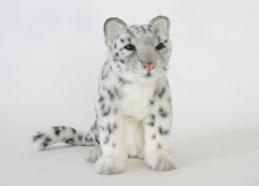 Mooie Witte Sneeuwpanter knuffel  28 cm kopen