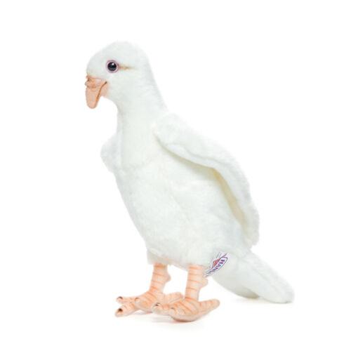 Mooie Witte Witte duif knuffel  20 cm kopen