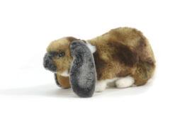 Mooie Bruine Duits hangoorkonijn knuffel  25 cm kopen