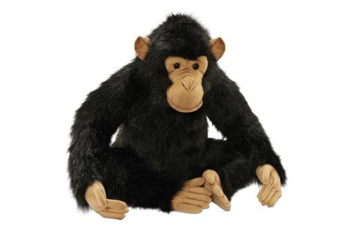 Mooie XL Bruine chimpansee Papa  decoratie  65 cm kopen