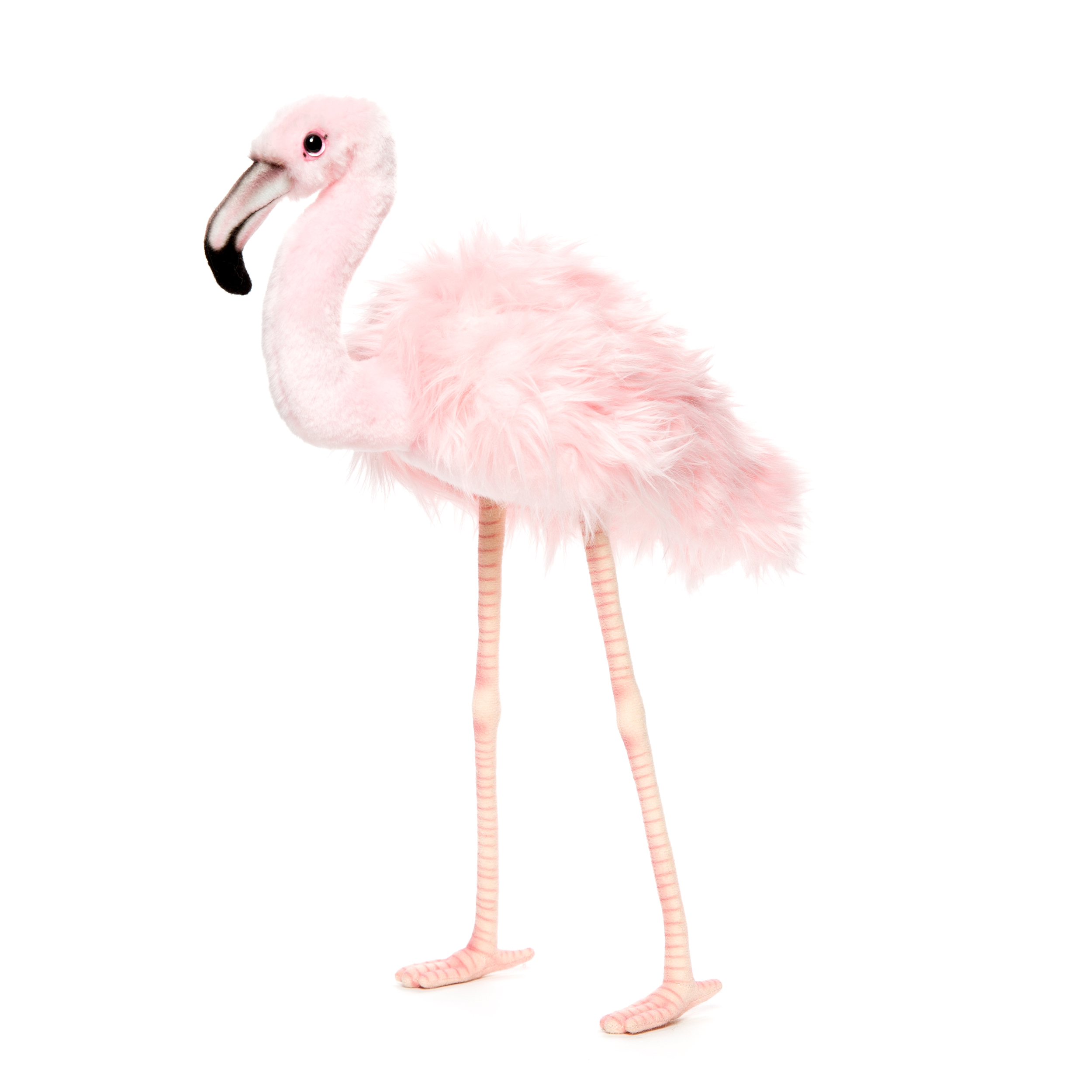 Roze Flamingo Roze Decoratie 38 Cm Levensechte Pluche Dieren Hansa Creation Benelux