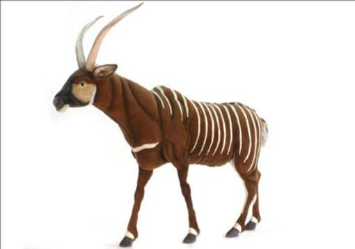 Mooie XL Roodbruine Bongo decoratie  170 cm kopen