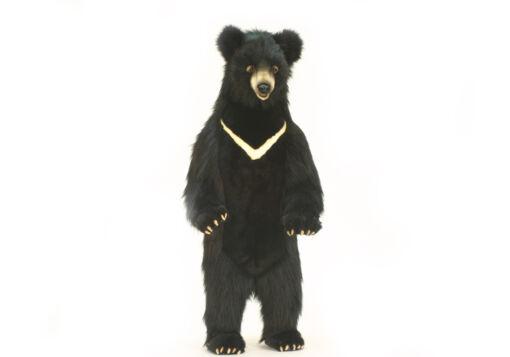 Mooie XL zwarte beer decoratie  115 cm kopen